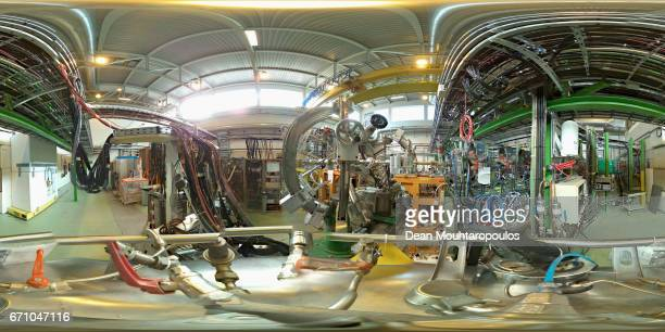 A general view of the Miniball or Mini Ball station a gamma array of high purity germanium detectors during a behind the scenes tour at CERN the...