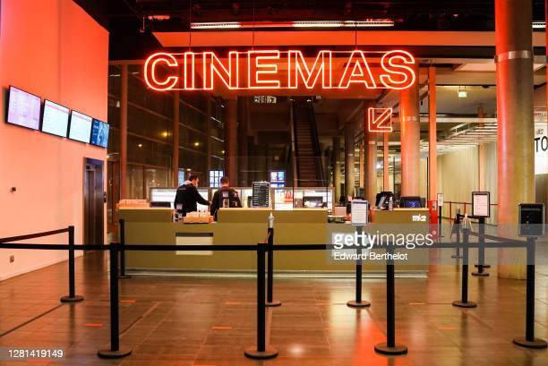 General view of the MK2 bibliotheque on October 21st At MK2 Bibliotheque on October 21 2020 in Paris France Cinema MK2 Bibliotheque decides to offer...