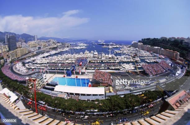 General view of the Monaco Circuit during the Monaco Formula One Grand Prix held on June 1, 2003 in Monte Carlo, Monaco.