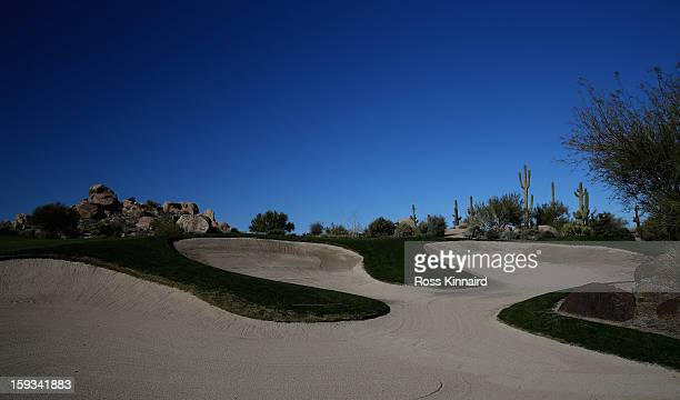 A general view of the Monument Course at the Troon North Golf Club Scottsdale on January 4 2013 in Scottsdale Arizona