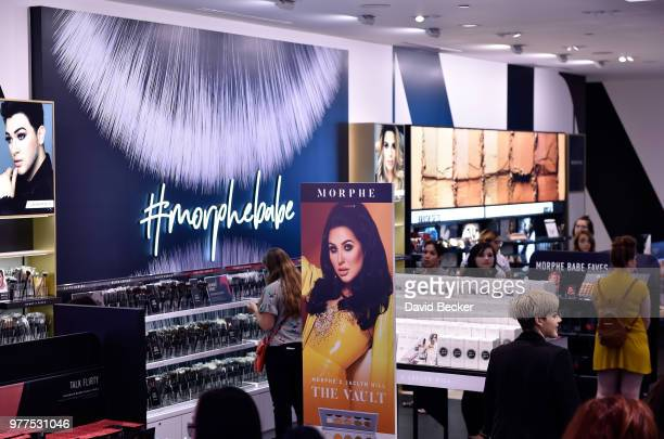 A general view of the Morphe store opening with Jaclyn Hill at the Miracle Mile Shops at Planet Hollywood Resort Casino on June 16 2018 in Las Vegas...