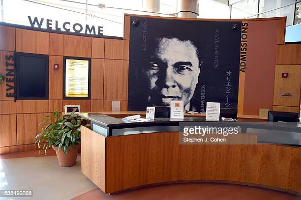 A general view of the Muhammad Ali Center during press conference detailing Muhammad Ali memorial service on June 6 2016 in Louisville Kentucky