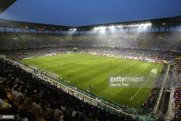 General view of the Munsu World Cup Stadium during the Group C match between Brazil and Turkey at the World Cup Group Stage played at the Ulsan-Munsu...
