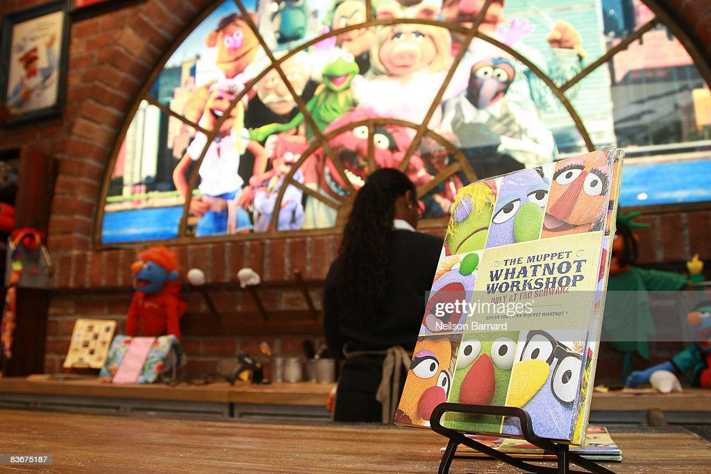 A general view of the Muppet Whatnot Workshop at FAO Schwarz on November 11, 2008 in New York City.