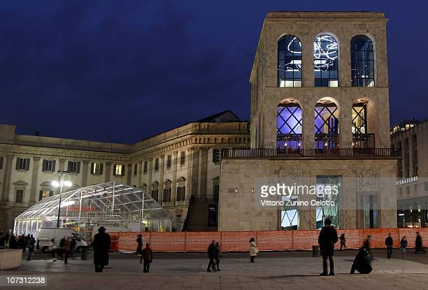 Museo Del 900 Milano.Museo Del Novecento Press Preview Pictures And Photos Getty Images