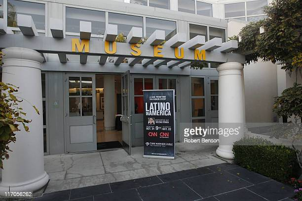 General view of the Museum of Contemporary Art during CNN's Latino in America screening on October 20 2009 in La Jolla California 19046_0122jpg