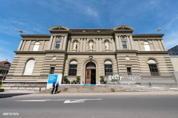 A general view of the Museum of Fine Arts Bern on May 8 2014 in Bern Switzerland The Kunstmuseum Bern has been informed yesterday by the lawyer of...