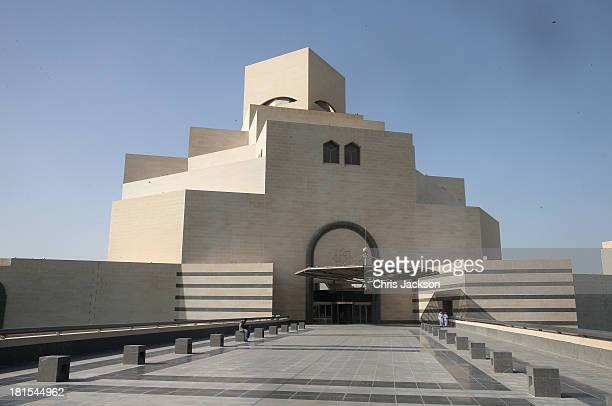 A general view of the Museum of Islamic Art on day 1 of Sophie Countess of Wessex's visit to Qatar with the Charity ORBIS on September 22 2013 in...