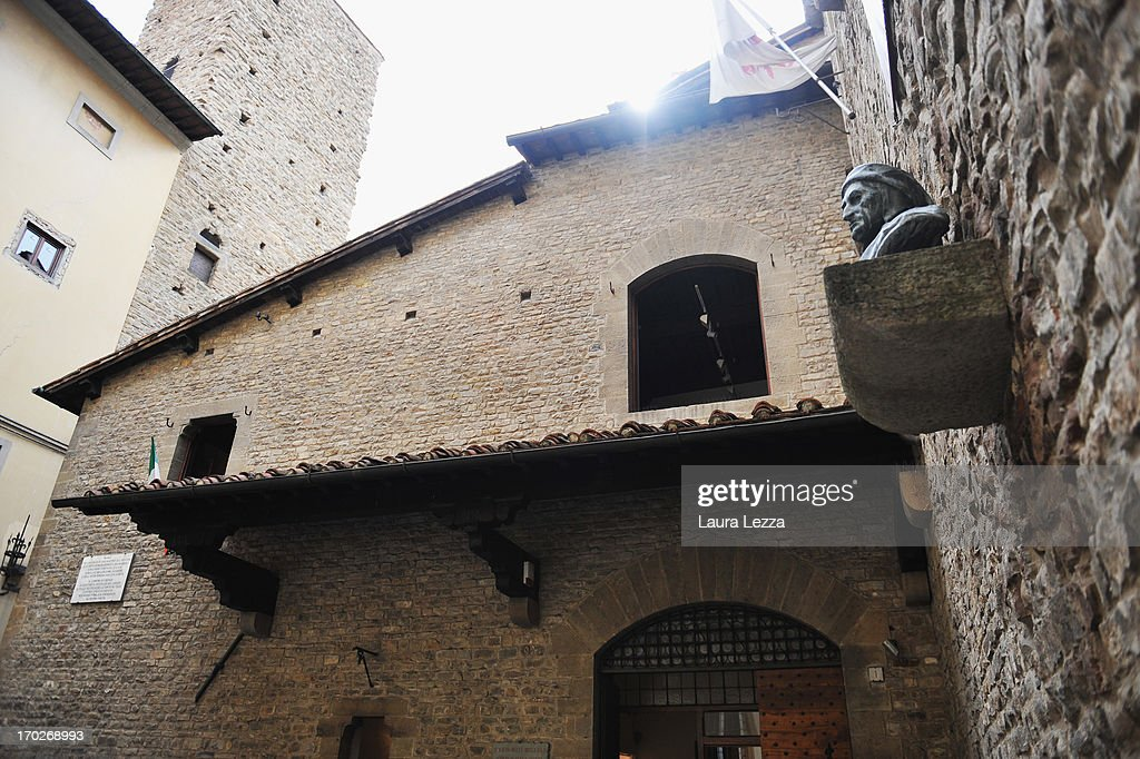 A general view of the Museum of the house of Dante Alighieri on June 8, 2013 in Florence, Italy. The latest book by the American writer Dan Brown is set largely in Florence historic centre and the plot is based on Dante's Divina Commedia ('Divine Comedy') and its Inferno. In the novel there are many references to his city and to his work.