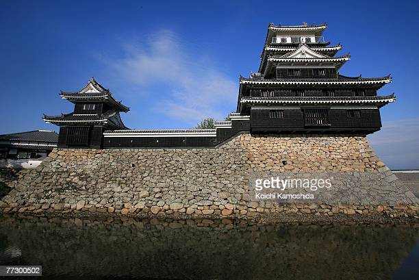 A general view of the NakatsuJo Castle on October 12 2007 in Nakatsu Oita Prefecture Japan Due to the cost of maintaining the building Owner Masayuki...