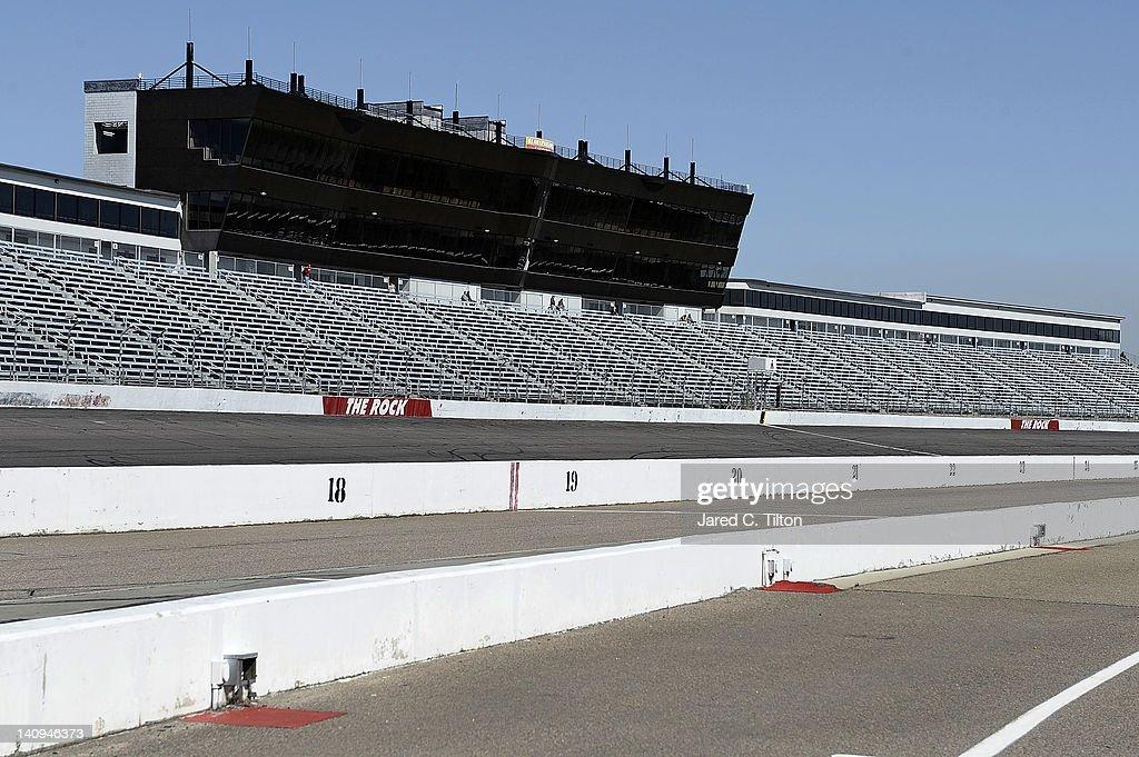 NASCAR Tire Test at Rockingham Speedway : News Photo