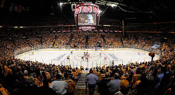Detroit Red Wings v Nashville Predators - Game One
