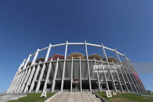 General view of the National Arena stadium prior to the UEFA Nations League C group four match between Romania and Serbia at the National Arena on...