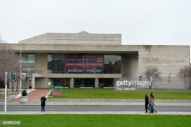 General view of the National Constitution Center on December 30, 2015 in Philadelphia, Pennsylvania.