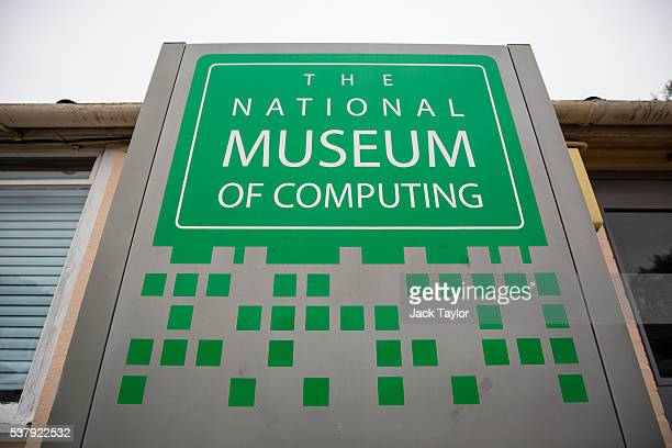 A general view of The National Museum of Computing formerly known as Block H during World War II Bletchley Park on June 3 2016 in Bletchley England...