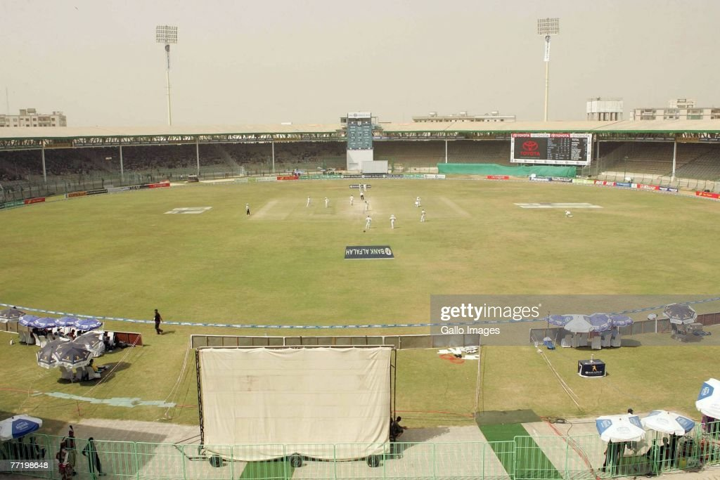First Test - Pakistan v South Africa - Day Five : News Photo
