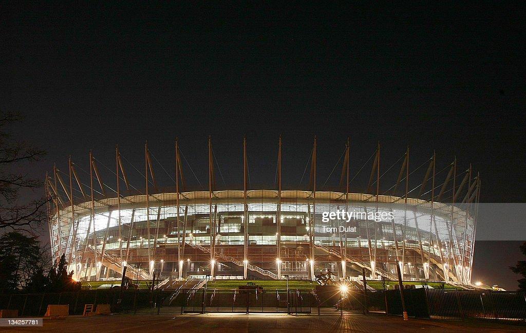Euro 2012 Venues & Cities - Warsaw : News Photo