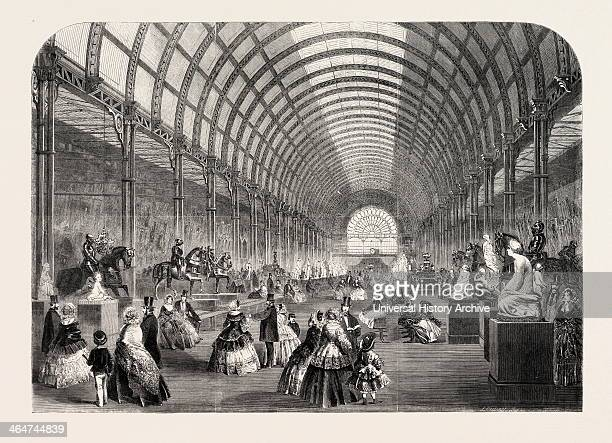 General View Of The Nave At The Manchester Arttreasures Exhibition UK 1857