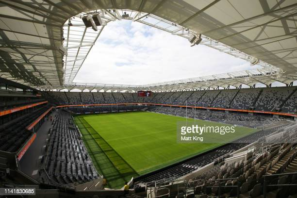 A general view of the new Bankwest Stadium on April 11 2019 in Sydney Australia