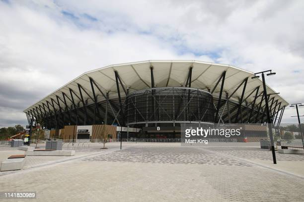 General view of the new Bankwest Stadium on April 11, 2019 in Sydney, Australia.