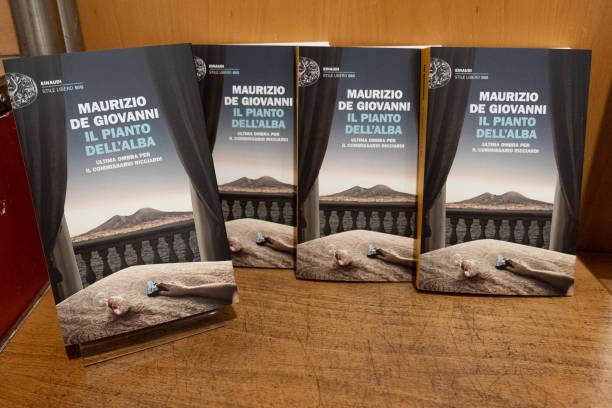 ITA: Maurizio De Giovanni New Book Presentation In Milan