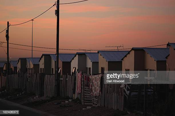 General view of the New Brighton Township on June 24, 2010 in Port Elizabeth, South Africa. The New Brighton Township was established in 1903, making...