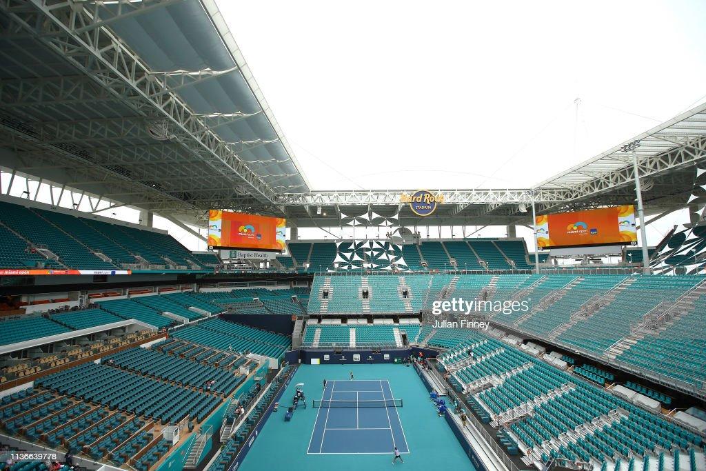 Miami Open 2019 - Day 1 : News Photo