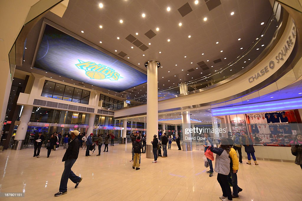 A general view of the new Chase Square at Madison Square Garden on November 3, 2013 at Madison Square Garden in New York City, New York.
