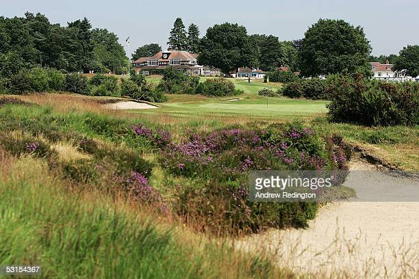 A general view of The New Course during International Final Qualifying for The Open Championship at Sunningale Golf Club on June 27 in Sunningdale...