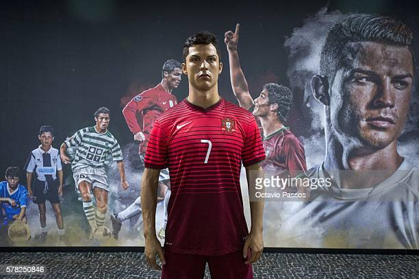 General view of the New CR7 Museum of the Portuguese footballer Cristiano Ronaldo on July 21 2016 in Funchal Madeira Portugal
