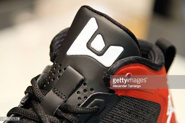 buy popular ee6ed 0d36a General view of the new Fly Wade 2 Dwyane Wade Jordan Brand signature shoe at  House