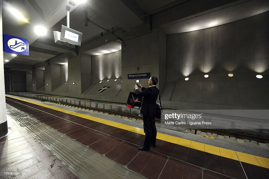 General view of the new High Speed Trains Station of Bologna Centrale on June 8, 2013 in Bologna, Italy. A new underground high speed train station has been unveiled at Bologna Centrale, Italy's fifth-largest station.