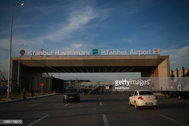 A general view of the new Istanbul International Airport in Istanbul Turkey on 29 October 2018 The airport is estimated to become one of the world's...