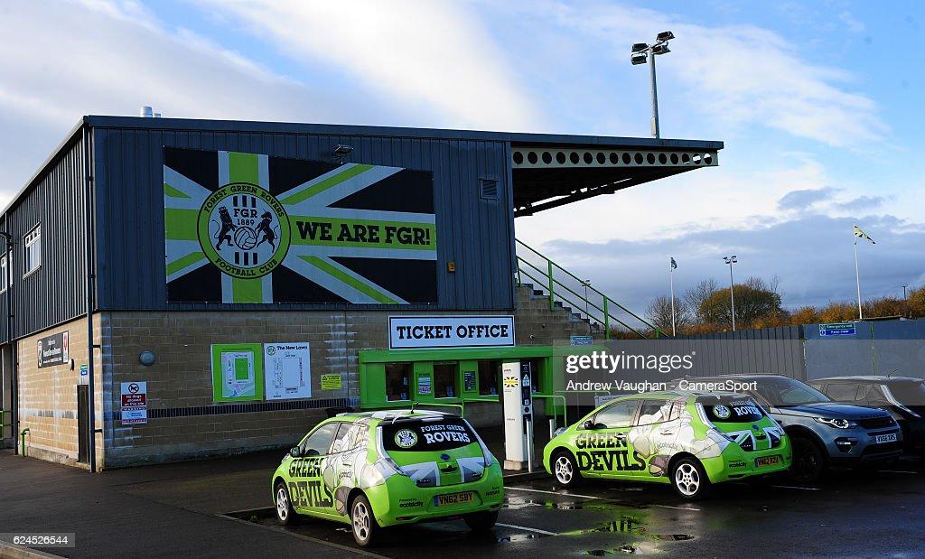 Forest Green Rovers v Lincoln City - Vanarama National League : News Photo