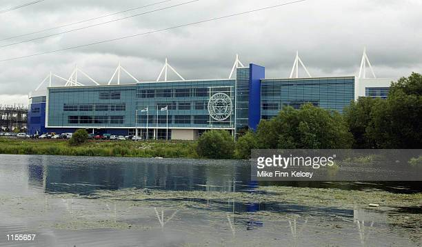 A general view of the new Leicester City ground the Walkers Stadium in Leicester Great Britain on July 23 2002