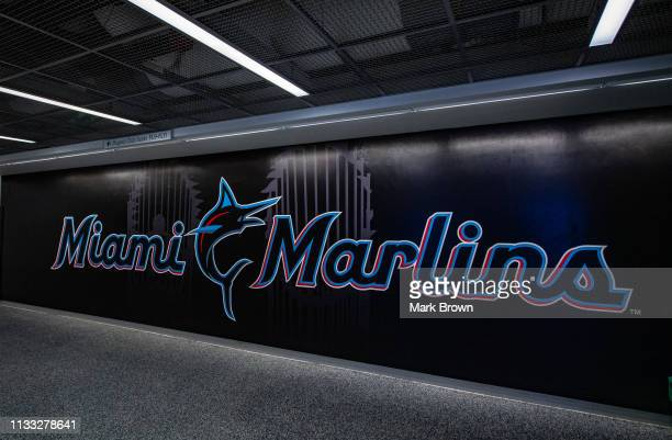 Miami Marlins Logo Stock Pictures, Royalty-free Photos & Images ...