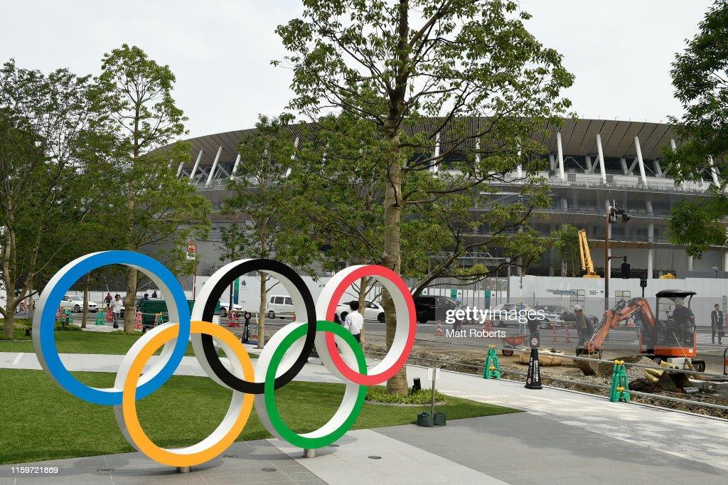 Tokyo 2020 Olympic Venue Tour : News Photo