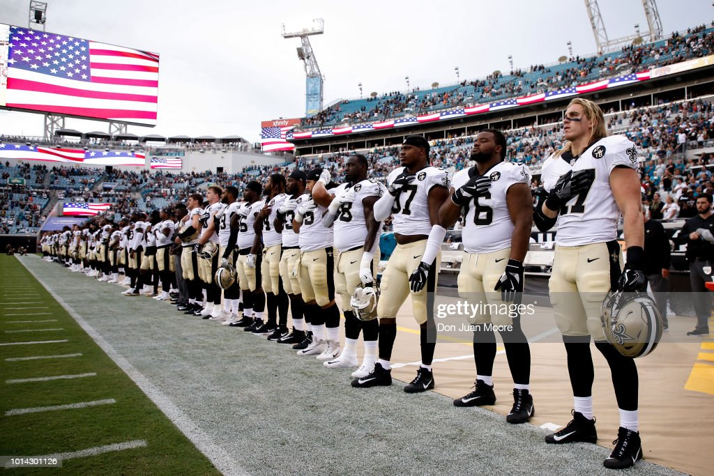 New Orleans Saints v Jacksonville Jaguars : Nachrichtenfoto