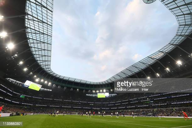A general view of the new Tottenham Hotspur Stadium during The Legends Match between Spurs Legends v Inter Forever at Tottenham Hotspur Stadium on...