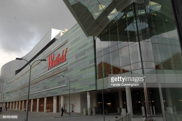 A general view of the new Westfield shopping centre on October 30 2008 in London England The store located in Shepards Bush is Europe's largest urban...
