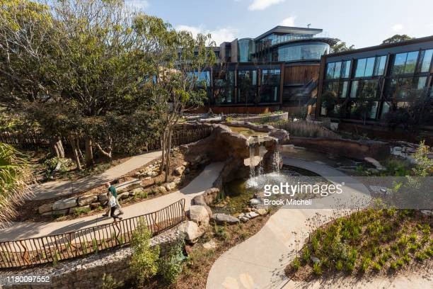General view of the new Wildlife retreat at Taronga Zoo on October 10, 2019 in Sydney, Australia. The Wildlife Retreat at Taronga is an overnight...
