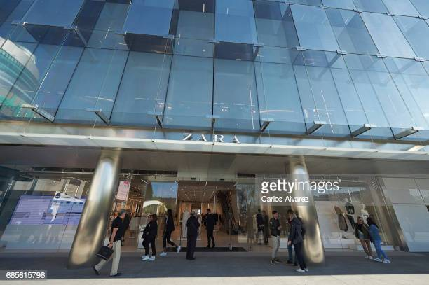 General view of the new Zara store on April 07 2017 in Madrid Spain The store is the biggest Zara store in the world measuring 6000 square meters