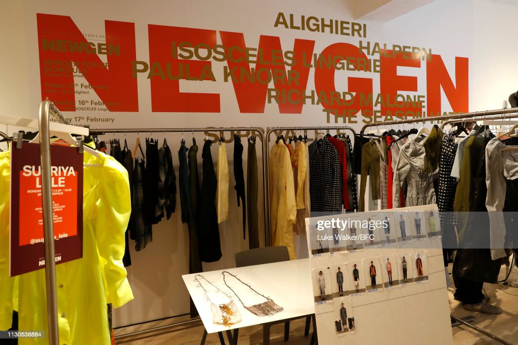 GBR: NEWGEN Pop-Up Showroom: Supriya Lele  - LFW February 2019