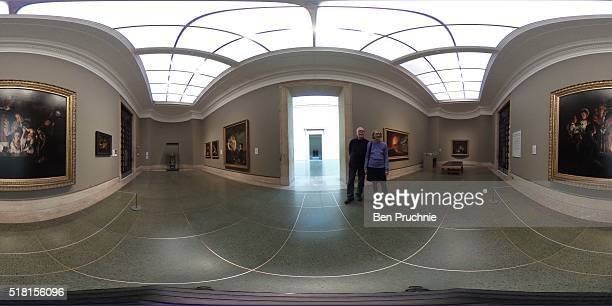 A general view of the newly installed Joseph Wright Sketch at Tate Britain on March 30 2016 in London England Currently on loan to Tate Britain the...