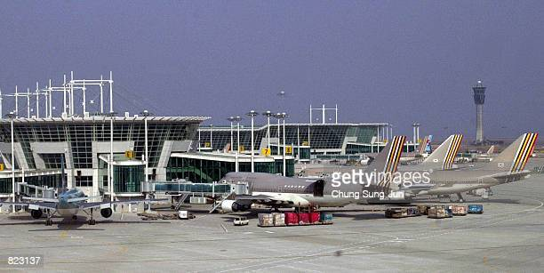 Incheon International Airport Stock Photos and Pictures  