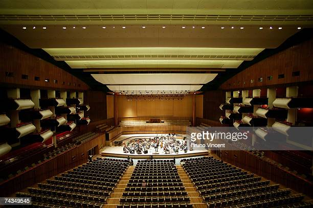 General view of the newly refurbished Royal Festival Hall on May 29, 2007 in London, England. The south bank music hall has undergone a multi-million...