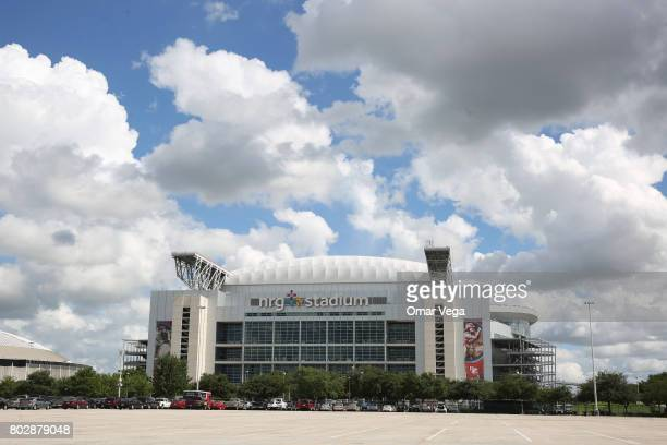 General view of the NGR Stadium prior to the friendly match between Mexico and Ghana at NRG Stadium on June 28 2017 in Houston Texas