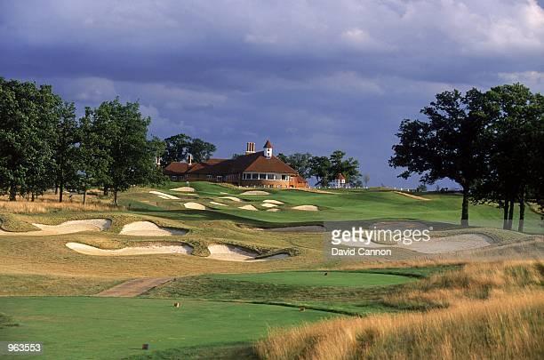 General view of the Nick Faldo designed Chart Hills Golf Club in Biddenden, Kent. \ Mandatory Credit: David Cannon /Allsport