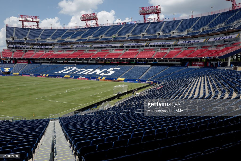 General View of the Nissan Stadium prior to the 2017 CONCACAF Gold Cup Group B match between the United States and Panama at Nissan Stadium on July 8, 2017 in Nashville, Tennessee.