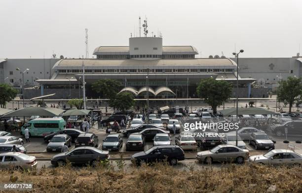 A general view of the Nnamdi Azikiwe International Airport in Abuja on February 24 2016 Authorities plan to close the airport for six weeks starting...